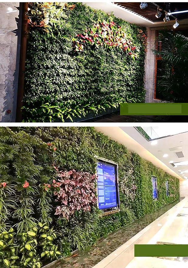 TTIK Jardín Vertical Interior Exterior balcón terraza Decoración Colgantes de Pared Vertical Exterior decoración de Plantas un Conjunto de 28,28/㎡: Amazon.es: Hogar