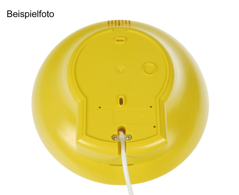 multicolor Plastik 25 x 25 x 8 cm gelb Niermann Standby Wandleuchte