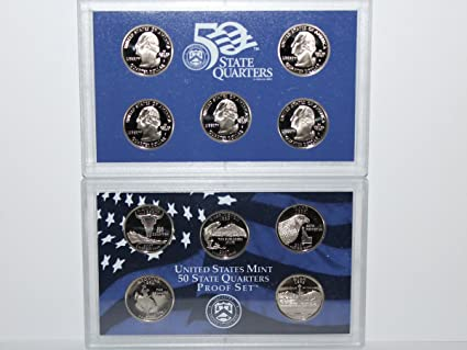 2007 US Mint State Quarter Proof Set