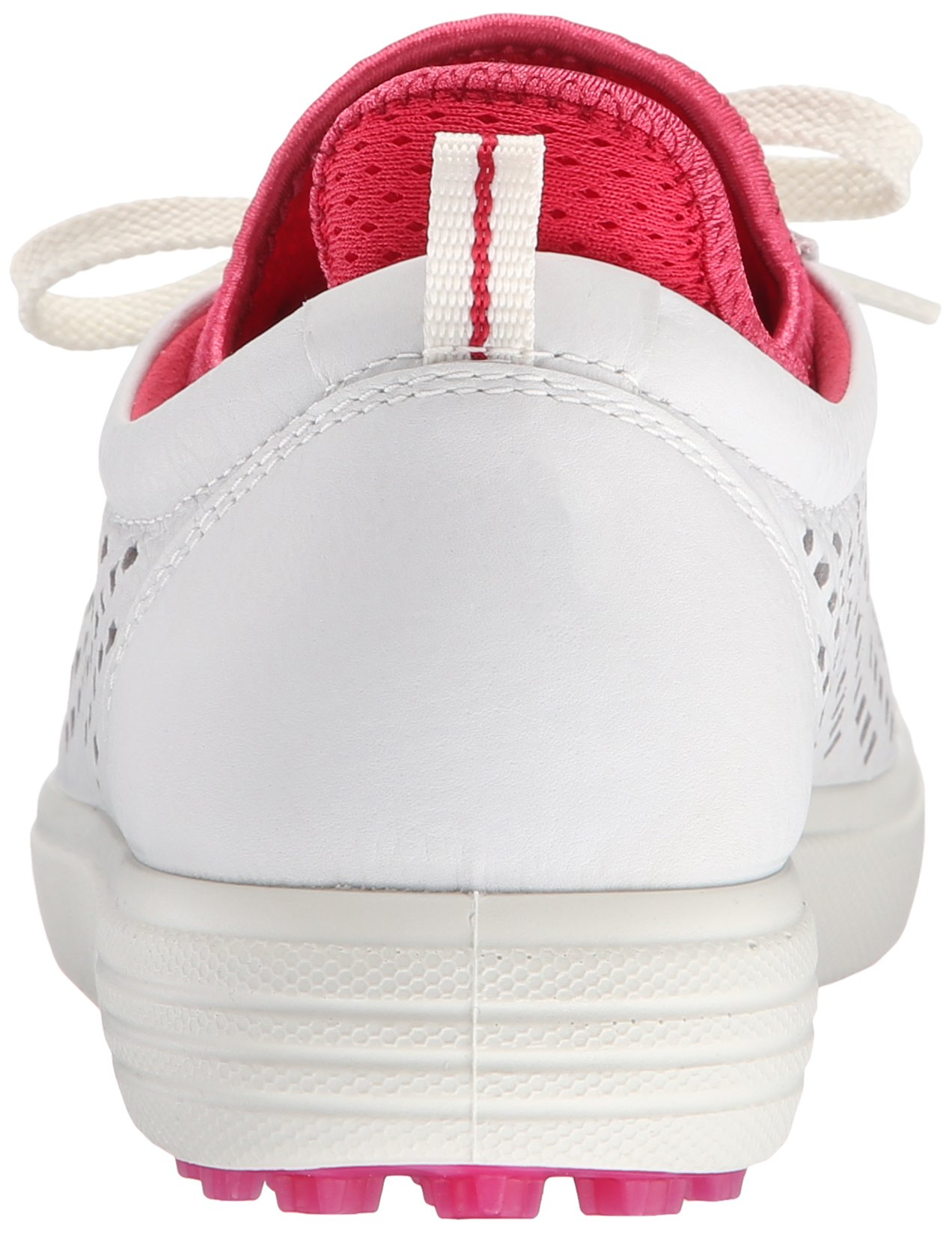 ECCO Women's Summer Hybrid Golf Shoe, White/Raspberry, 41 EU/10-10.5 M US by ECCO (Image #2)