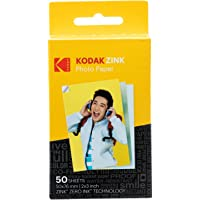 (50 Pack) - Kodak 5.1cm x 7.6cm Sticky-Backed ZINK Photo Paper (50 Sheets) - Compatible With Kodak Printomatic Instant Camera