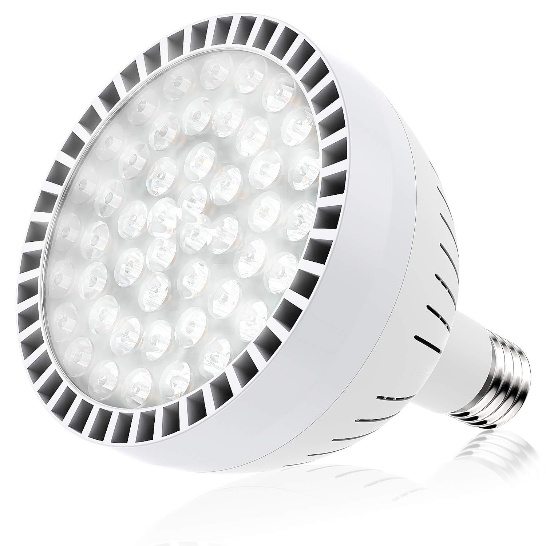 Bonbo LED Pool Bulb White Light, OSRAM 120V 65W Swimming Pool Light Bulb 6500K Daylight White E26 Base 500-800W Traditional Bulb Replacement for Most Pentair Hayward Light Fixture