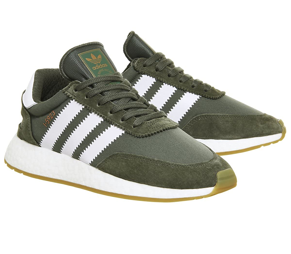 adidas I-5923 Calzado Base Green/FTWR White: Amazon.es: Zapatos y complementos