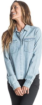 Roxy Save ME - Camisa Vaquera De Manga Larga para Mujer ...