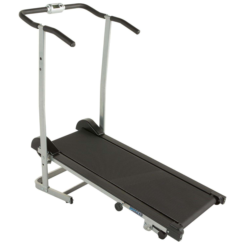 Progear 190 Manual Treadmill with 2 Level Incline and Twin Flywheels,  Treadmills - Amazon Canada
