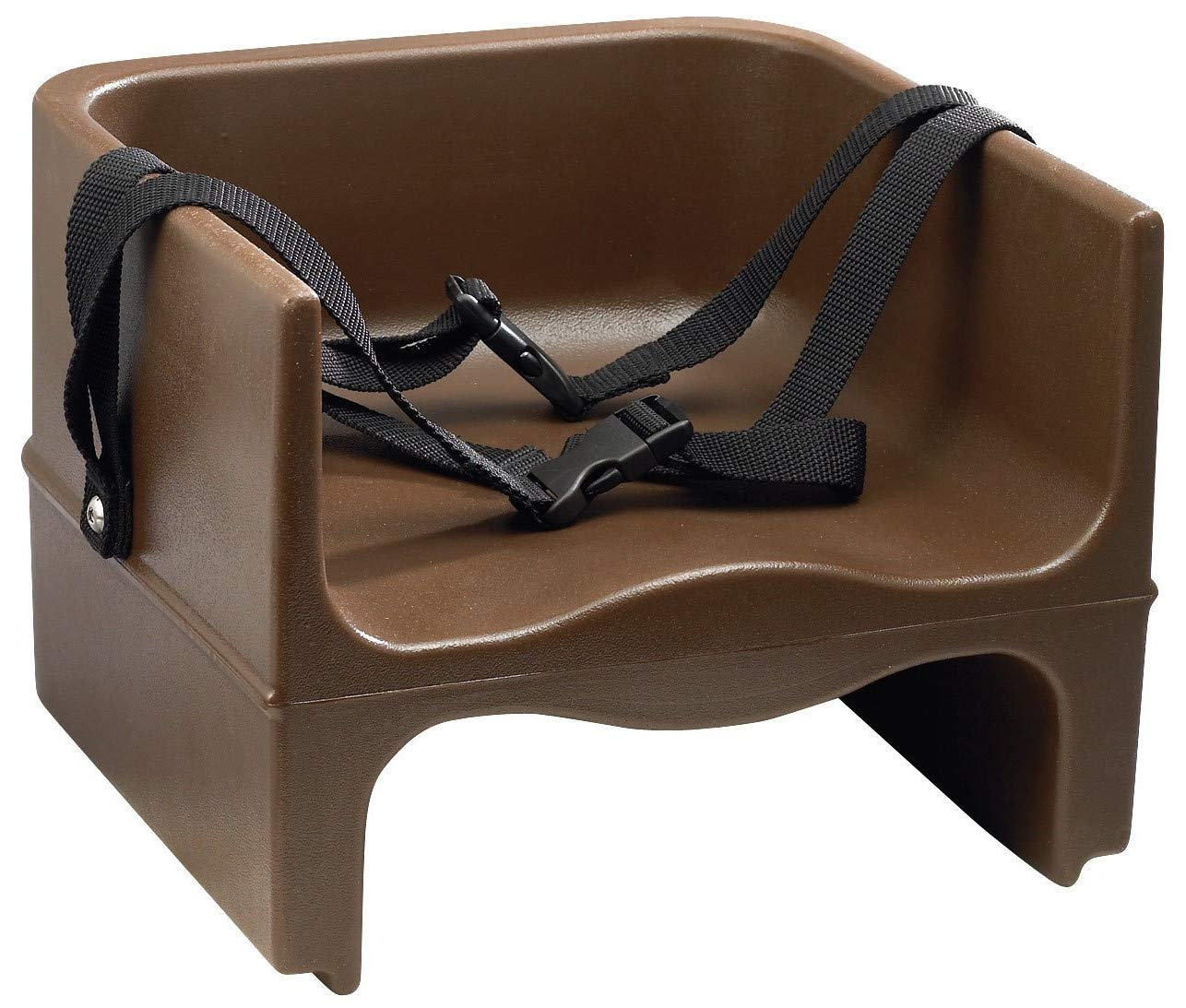 Child Booster Seat for Table Brown Backless for Kids High Chair Dining for Table Harness Toddler & E Book by Easy2Find.