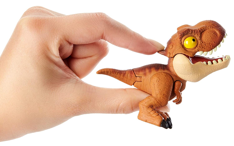 Jurassic World Dinobocazas Mattel GKH02 4 a/ños Pack de 4 dinosaurios de juguete para ni/ños