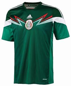 adidas Camiseta de fútbol réplica hombres México casa, color - - Green, tamaño XXXL