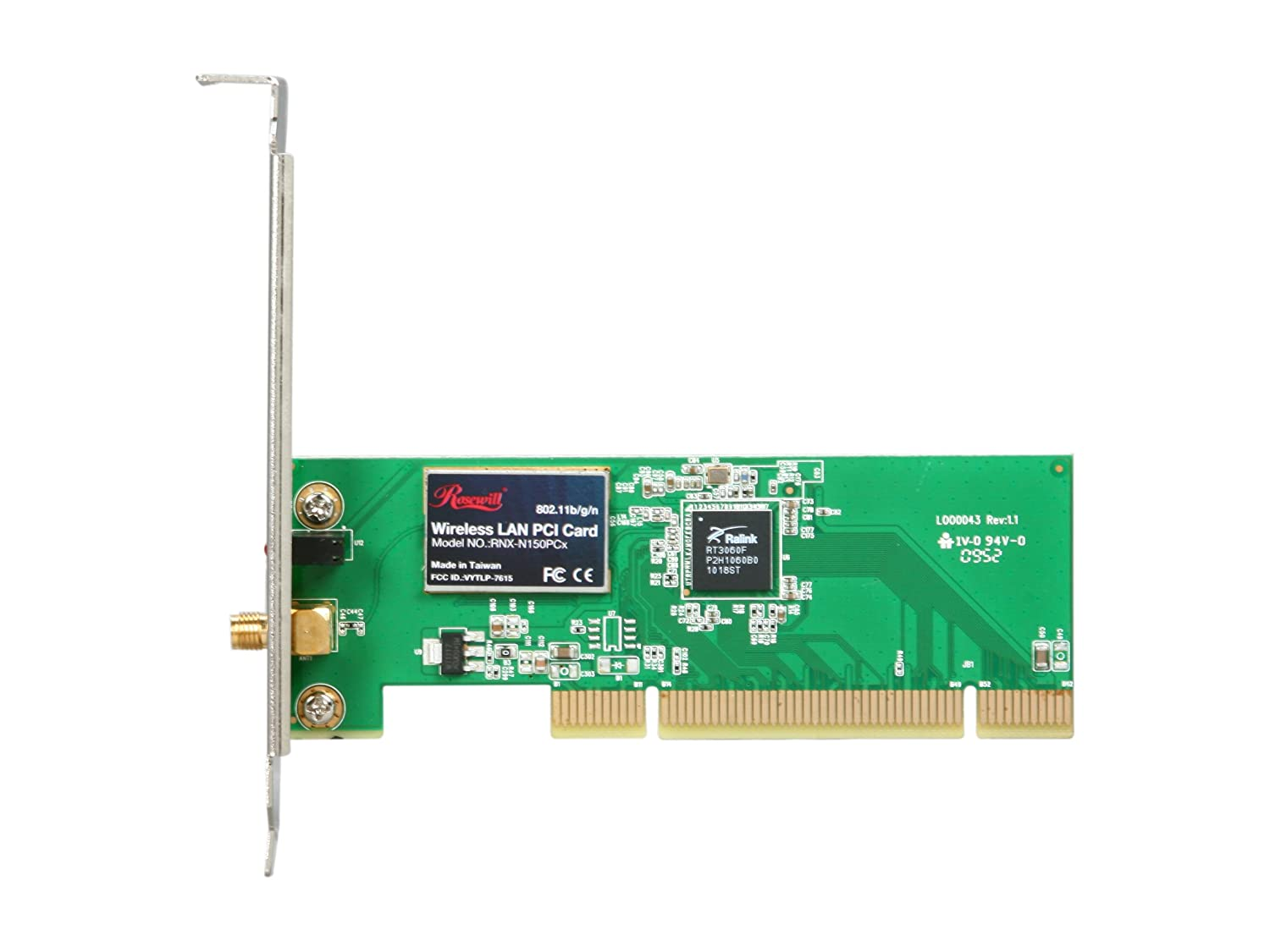 Rosewill RNX-N300 Wireless PCI Adapter Ralink WLAN Linux