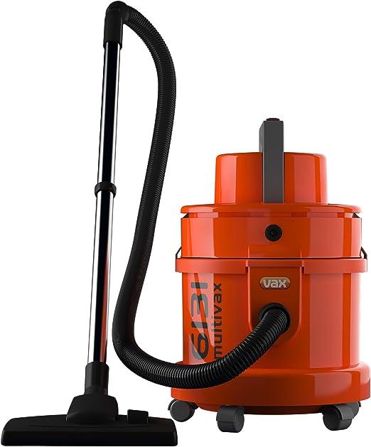 Vax 6131T - Aspiradora en seco y húmedo, 1300 W, color naranja ...