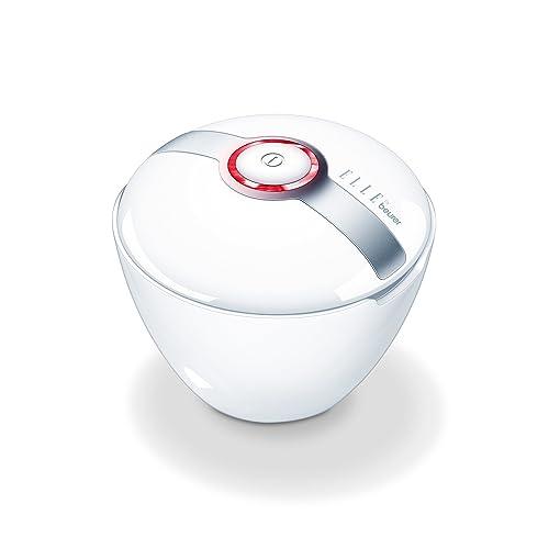 Beurer (Elle by Beurer) FCE-60 - Cepillo facial sónico, uso diario, 2 intensidades de masaje, color blanco