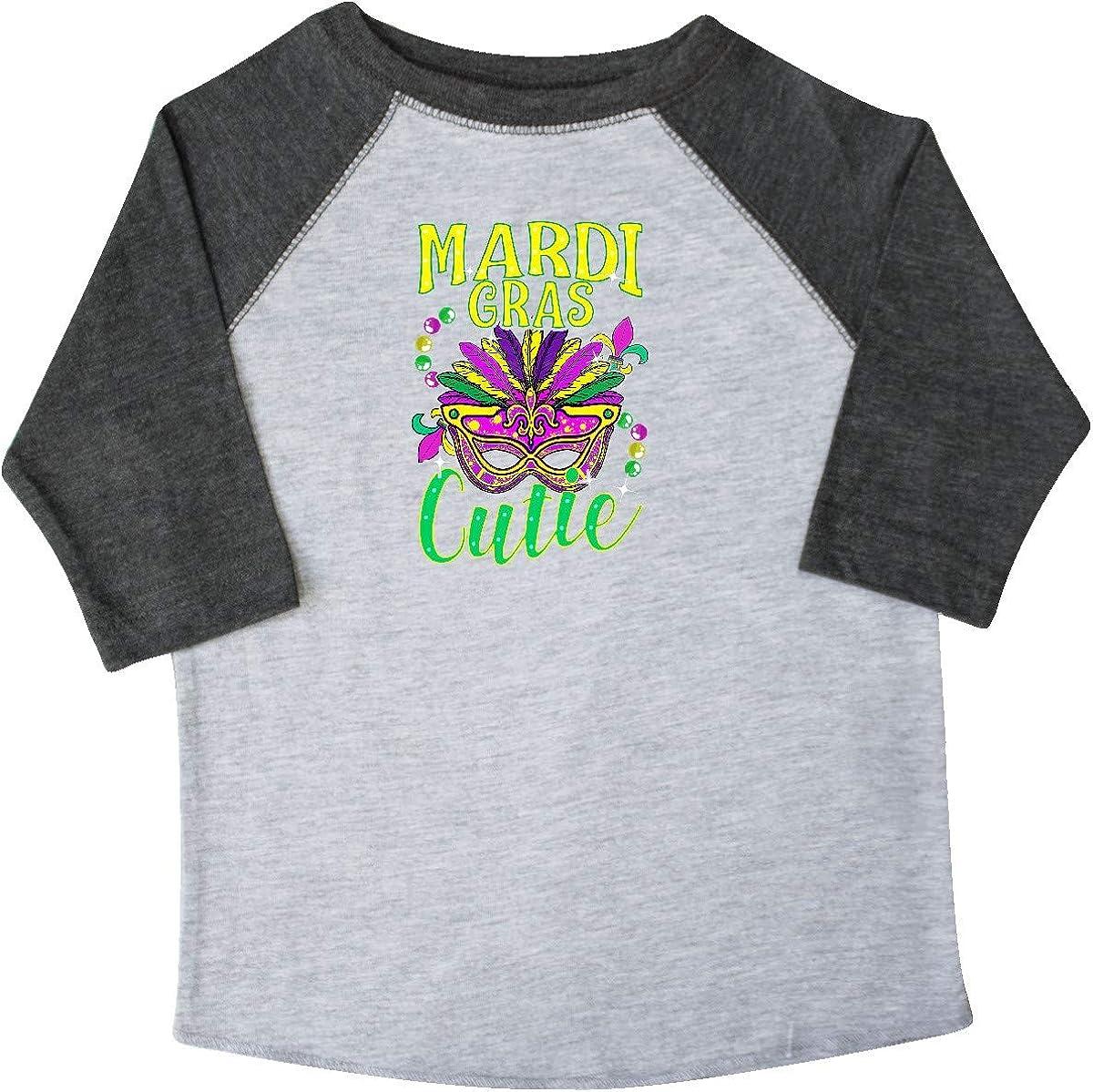 inktastic Mardi Gras for Girls Toddler T-Shirt