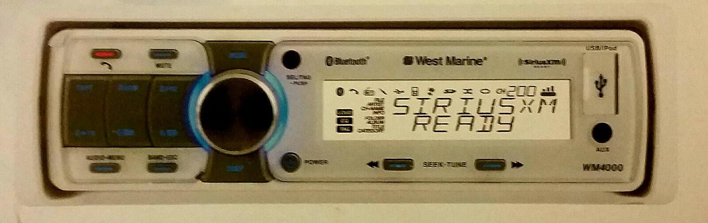 WEST MARINE WM4000 Bluetooth Marine Stereo Receiver: Amazon ca