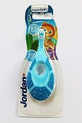Jordan Baby Teether Training Toothbrush Toddler Infant Massager Step 1 Baby Toothbrush, 0-2