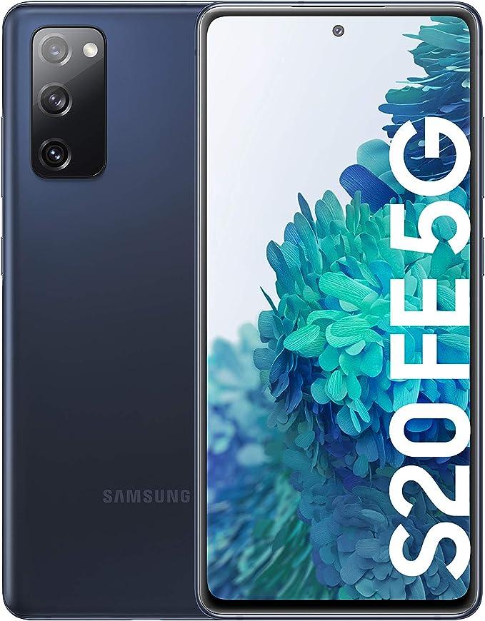 Samsung Galaxy S20 FE 5G, Smartphone Android Libre, Color Azul [Versión española]: Amazon.es: Electrónica