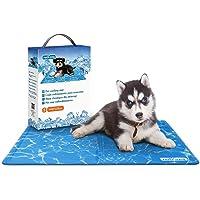 Nobleza – Alfombrilla refrescante para Mascotas Grandes. Auto refrigerante No tóxico. Ideal para para Perros, Gatos en…