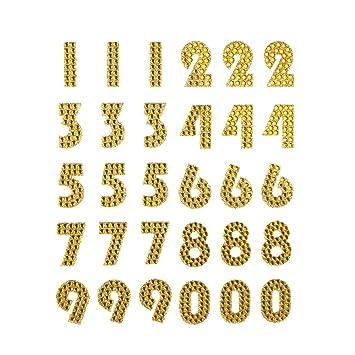 Anita/'s Glitterations Numbers Black