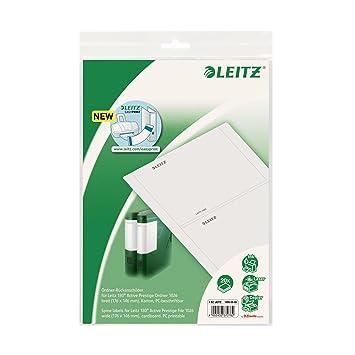 Leitz 16900085 EasyPrint - Etiquetas para lomos de archivadores Leitz 1021 y 1026 (176 x 146 mm, 2 unidades de 5 hojas): Amazon.es: Oficina y papelería