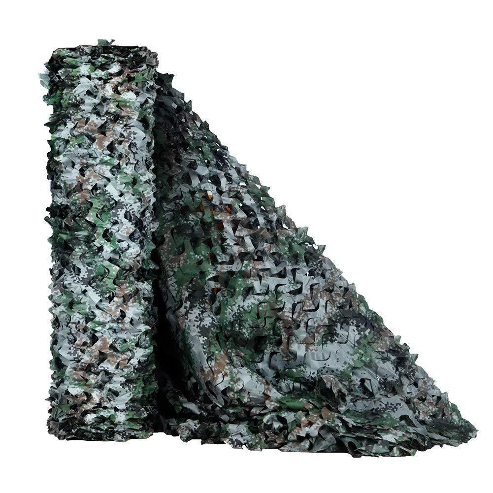 1010M(32.832.8ft) Filet Camo Filet de camouflage , Auvents, filet d'ombrage, filet de soleil, filet de prougeection solaire, voiles de bÂche de tente, adapté au camping en plein air avec clôture, couleur boisé, plusieurs