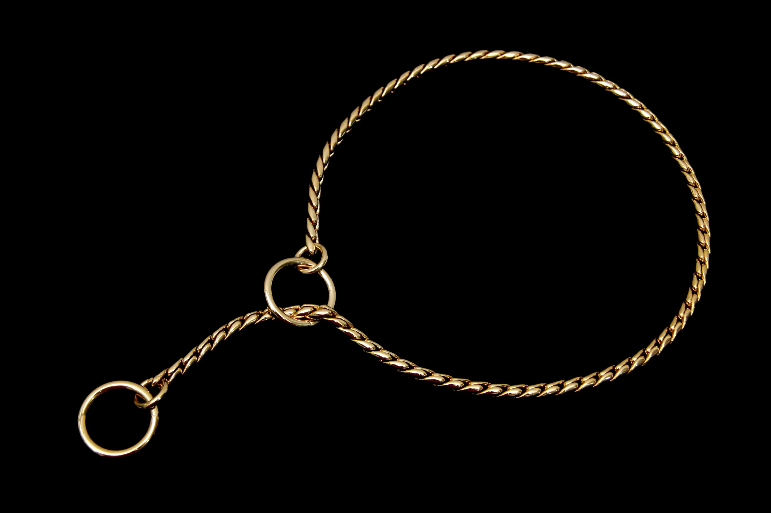 Alvalley Snake Show Chain for Dogs Thickness 5,5 mm x 22 in