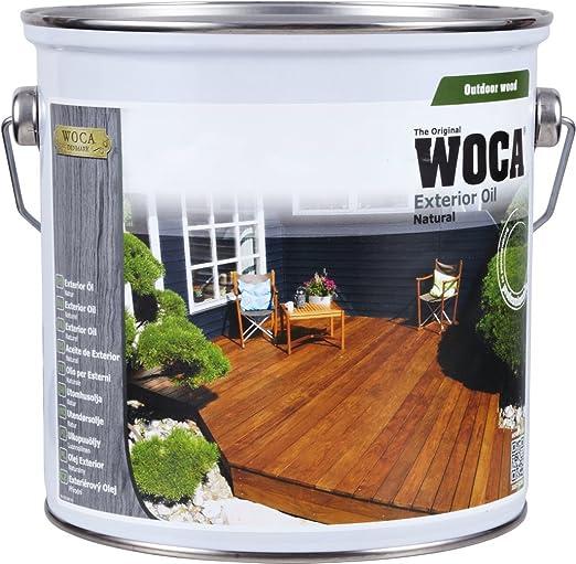 3 opinioni per Woca- Esterno Olio- Larice, 2,5 Litri