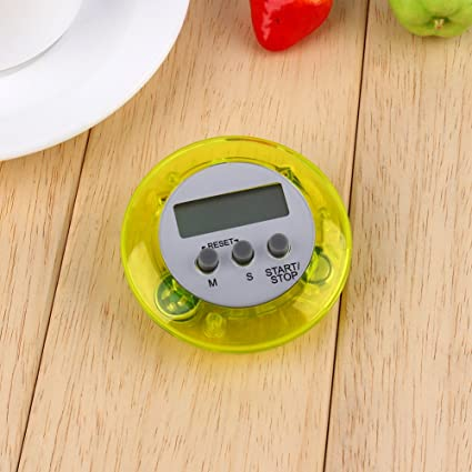 Cocina Cocina Temporizador Digital Protector de pantalla LCD alarma reloj temporizador de cocina magnético recordatorio minuto