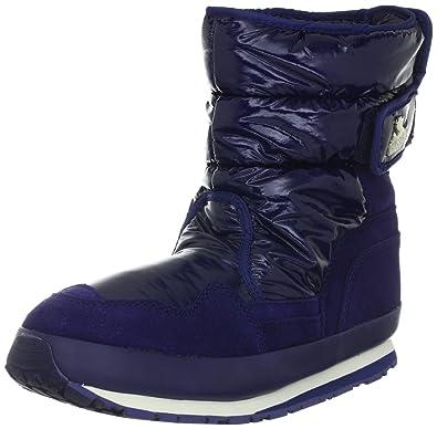 Fashion Ssjw Sporty 112 Rubber Stiefel Snowjogger Damen Shiny Sns Duck Nylon 8wXnOk0P
