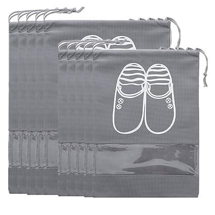 Selric 10 Piezas Bolsas de Zapatos con Ventana Transparente ...