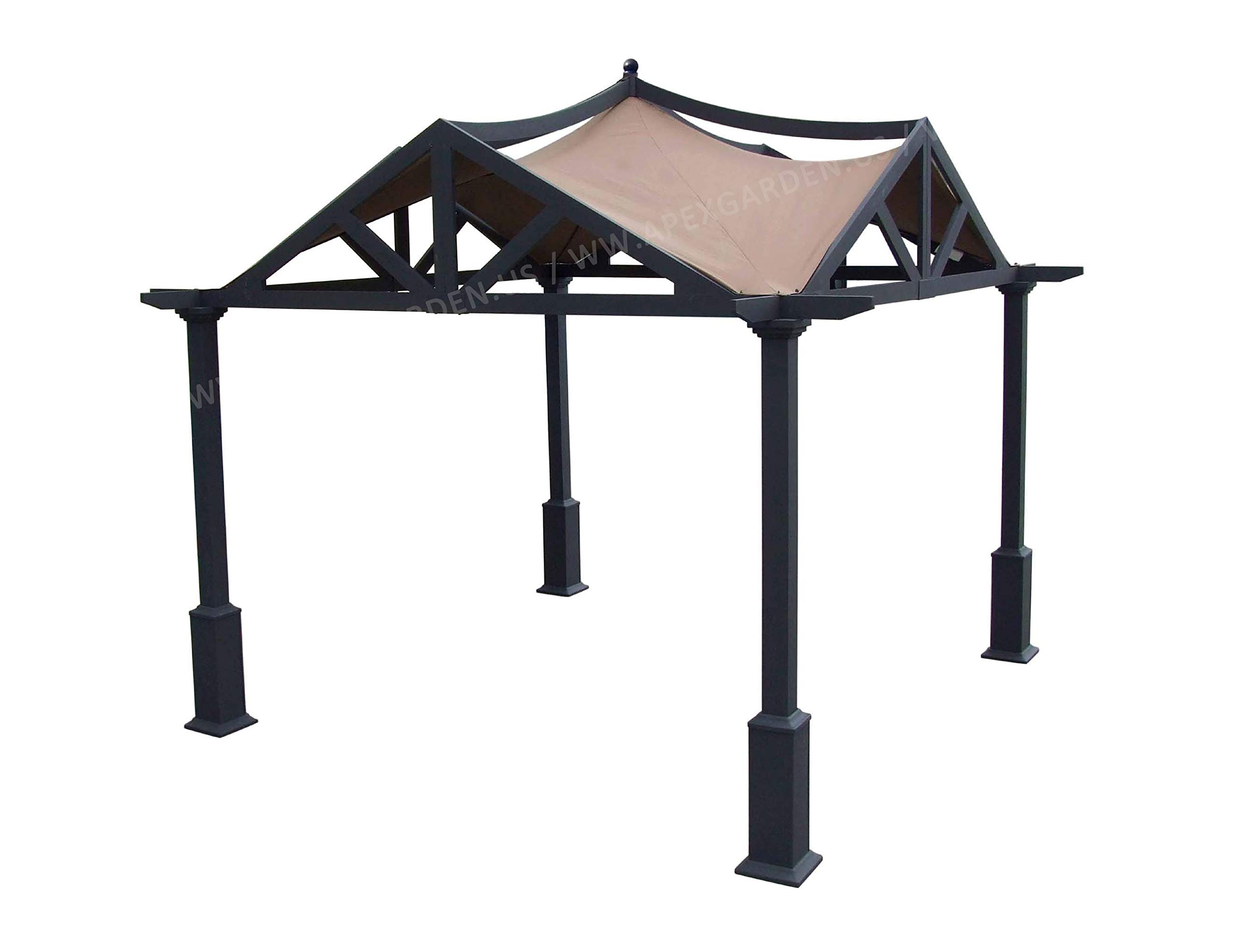 APEX GARDEN Replacement Canopy Top for Lowe's 10 ft x 10 ft Gazebo #GF-12S039B / GF-9A037X by APEX GARDEN (Image #1)