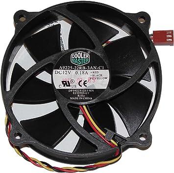 Cooler Master Generic a9225 – 22rb-3an-c1 df0922512rfmn E255988-CF ...