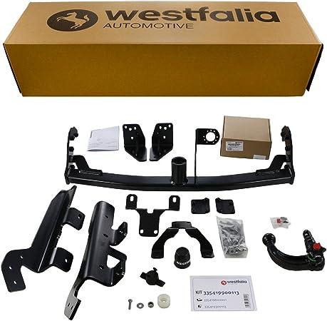 Westfalia Abnehmbare Anhängerkupplung Für Rav4 Ab Bj 02 2013 Im Set Mit 13 Poligem Fahrzeugspezifischen Westfalia Elektrosatz Auto
