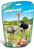 Playmobil - 6646 - Le Zoo -Autruches Et Nid