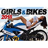 Girls and Bikes 2018 calendrier mural motos