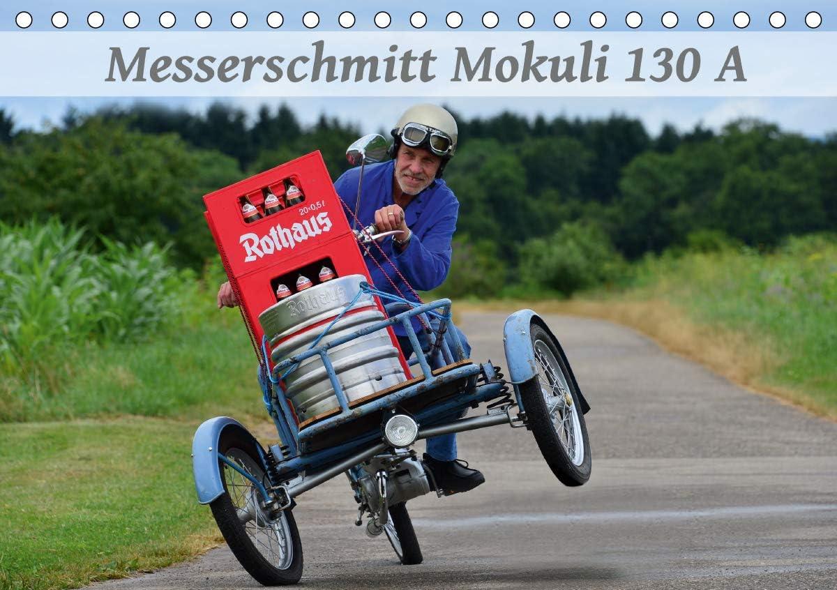 Messerschmitt Mokuli 130 A (Tischkalender 2021 DIN A5 quer): Ein seltener Lastenesel aus alten Zeiten (Monatskalender, 14 Seiten )