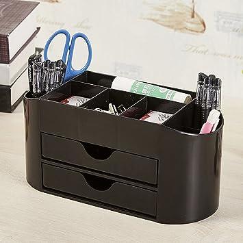 Caso 8 Multifunción Pluma útiles escolares Relleno de pluma Caja de almacenamiento-B 25x11x12cm(10x4x5): Amazon.es: Oficina y papelería