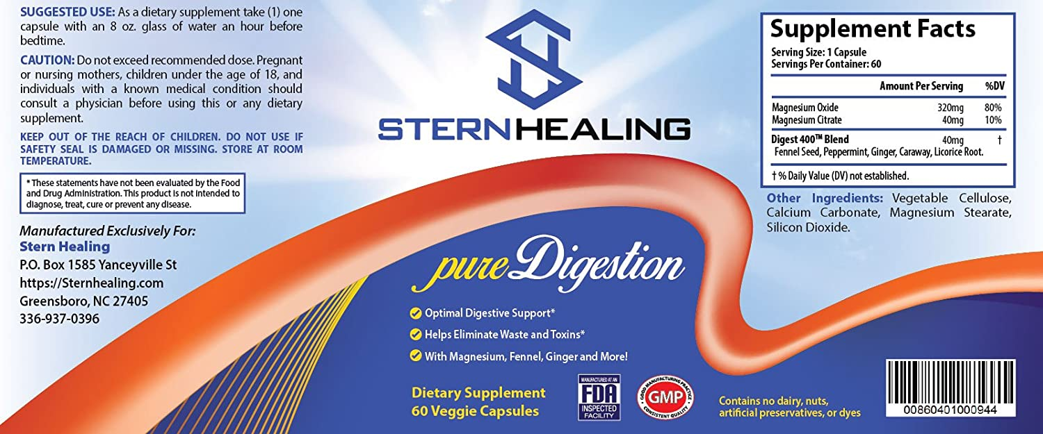 Amazon.com: pureDigestion Natural Antacid Supplement For Acid Reflux and Heartburn Contains 2 Forms of Acid Reducing High Alkaline Magnesium and 5 Powerful ...