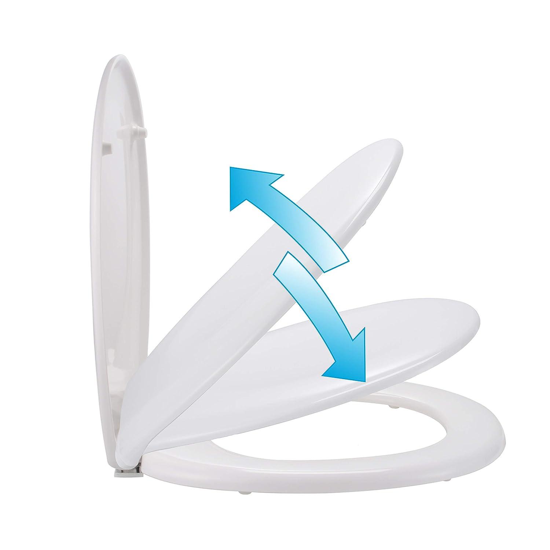 Wc Sitz Weiss Mit Absenk Automatik Softclose Toilettendeckel