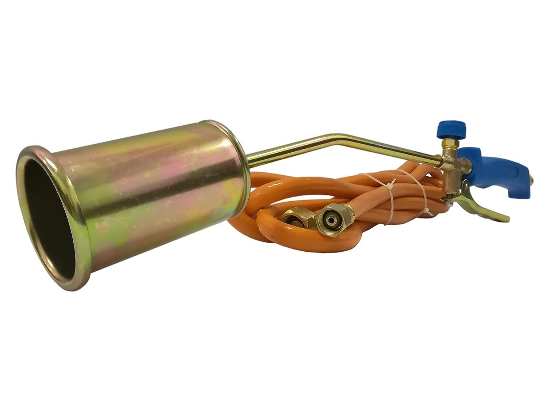 Gasbrenner Dachbrenner Brenner 58 KW Unkrautvernichter Gaslötgerät Abflammgerät Eu-Trade