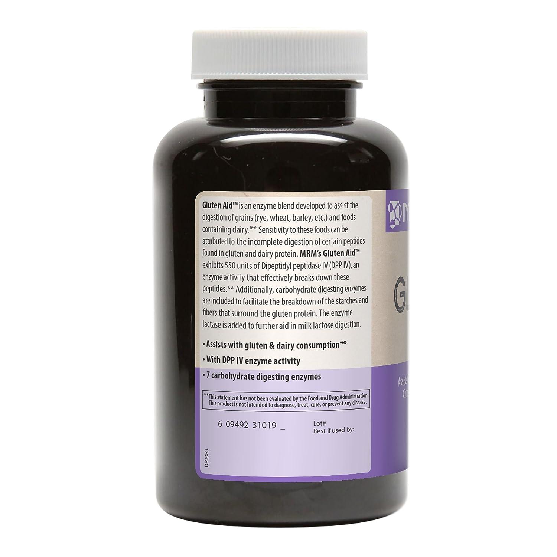 El gluten y de ayuda, 60 Caps Veggie - GRM: Amazon.es: Salud ...