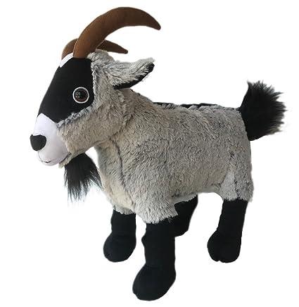 Amazon Com Adore 15 Standing Peewee The Pygmy Goat Stuffed Animal