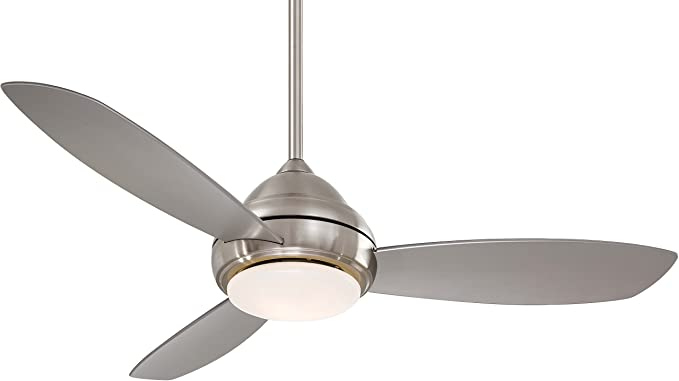Minka Aire F517l Bn Concept I 52 Led Ceiling Fan Brushed Nickel