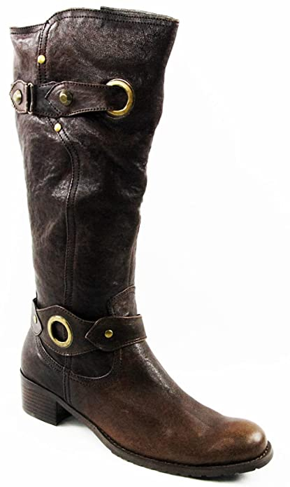 Andrea Conti Invierno Zapatos Botas Botines piel marrón 2999 - 3001, color Marrón, talla 38: Amazon.es: Zapatos y complementos