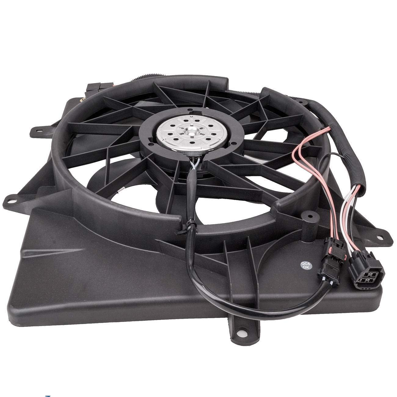TOPAZ 5179470AA Radiator Cooling Fan Assembly for Chrysler 06-10 PT Cruiser