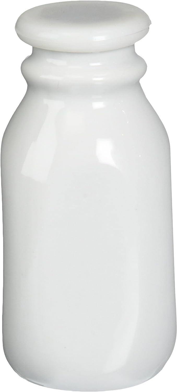 Bia Cordon Bleu Inc Bia Cordon Bleu Inc 900712 8 Oz Porcelain Milk Bottle, Porcelain