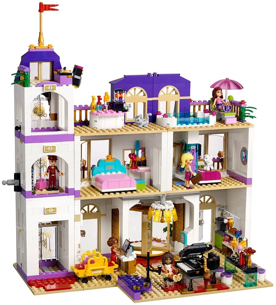 Lego Friends 41101 Heartlake Grand Hotel Building Kit By Lego Amazon De Spielzeug