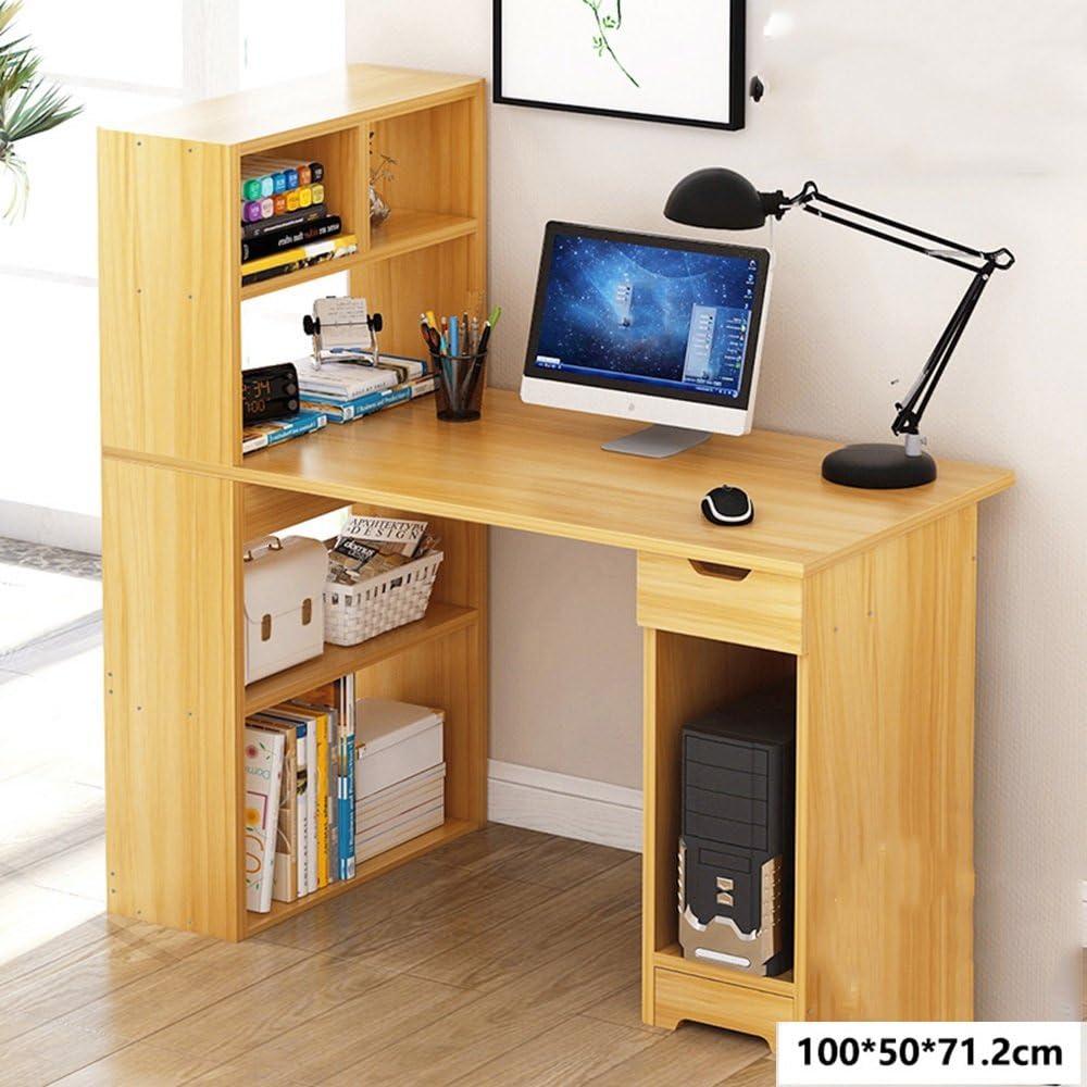 Tables HUO Computer desk bookcase desk combination household