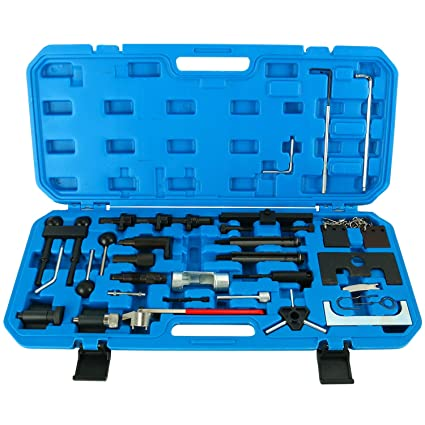 Amazon.com: 8MILELAKE Engine Belt Adjust Locking Timing Tool Kit Compatible for Audi VW VAG Petrol Diesel Set: Automotive