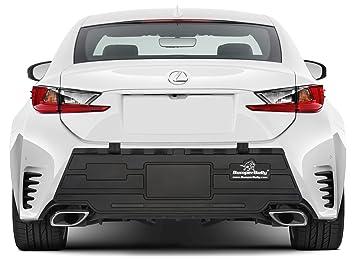 Car Bumper Guard >> Amazon Com Black Edition Bumper Bully Bumper Protector Rear