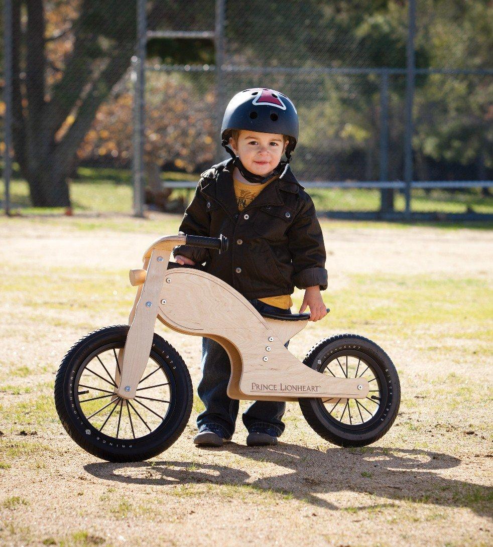 Prince Lionheart Chop Balance Bike, Natural by Prince Lionheart (Image #3)