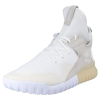 adidas Originals Tubular X PK Herren Sneaker Weiß, Größe:48